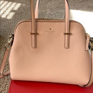 Kate Spade Pink Leather Satchel Bag